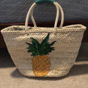 Handbags - Pineapple beach tote